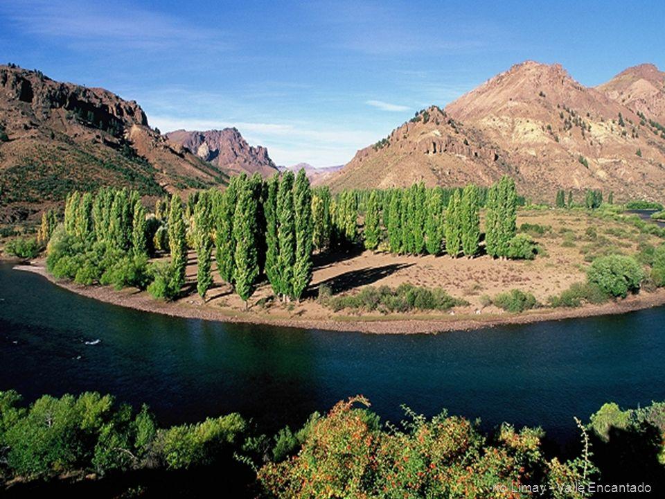 23 río Limay - Valle Encantado