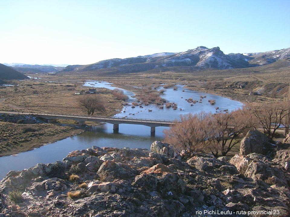 57 rio Pichi Leufu - ruta provincial 23