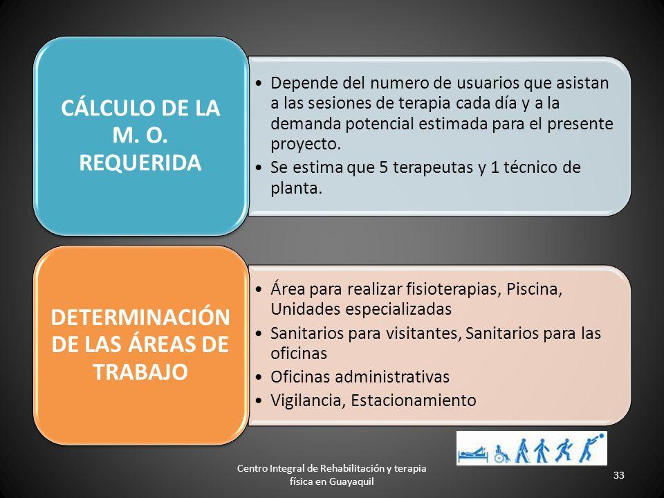 Centro Integral de Rehabilitación y terapia física en Guayaquil 32 El incremento en la demanda potencial insatisfecha es de 1.02%