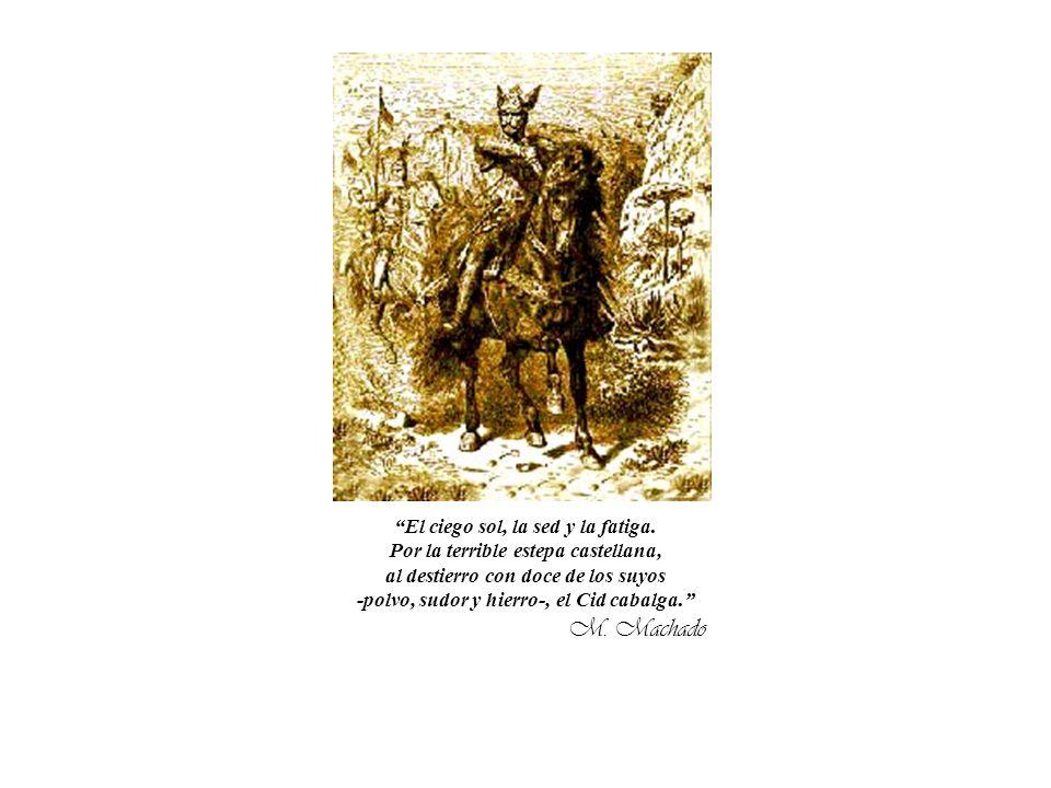 EL CID Brilla lacciaio lì nella sièrra il campeador non teme la guerra. Ei guarda avanti al suo destino: cè solo Himena sul suo cammino. Lo sguardo du