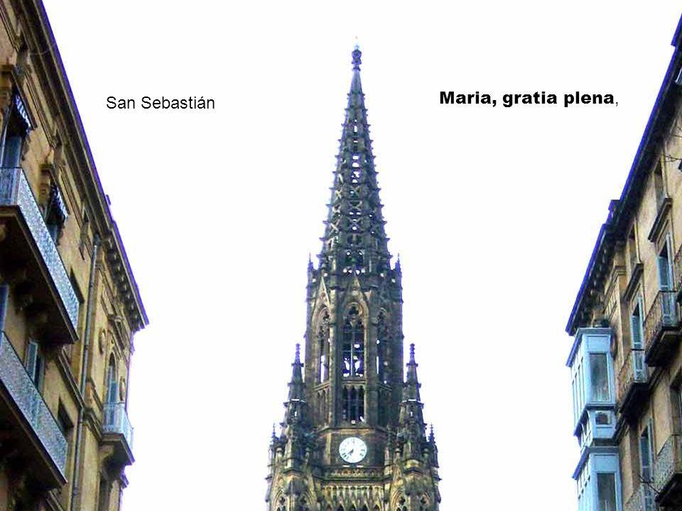 Cádiz Maria, gratia plena,
