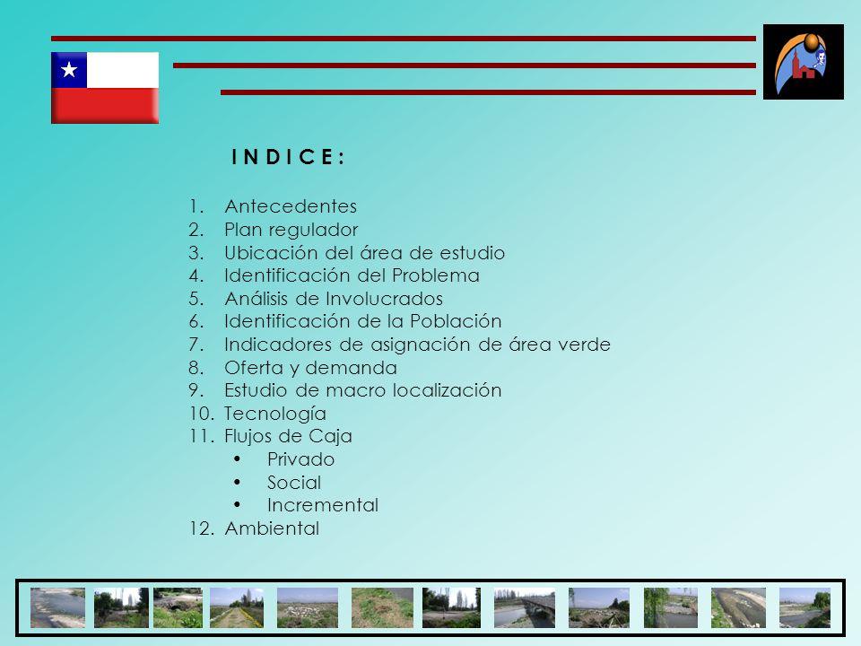 Análisis de Involucrados Clasificación de los involucrados: (3) (3) Los involucrados: son los que estarán apoyando al proyecto costanera