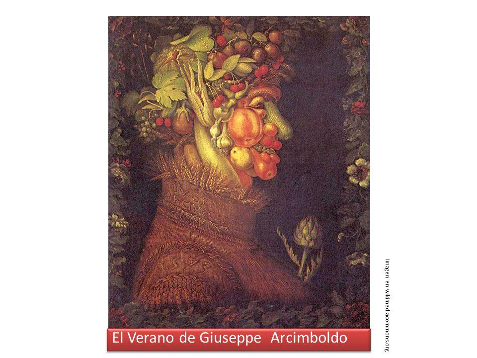 El Verano de Giuseppe Arcimboldo Imagen en wikimediacommons.org