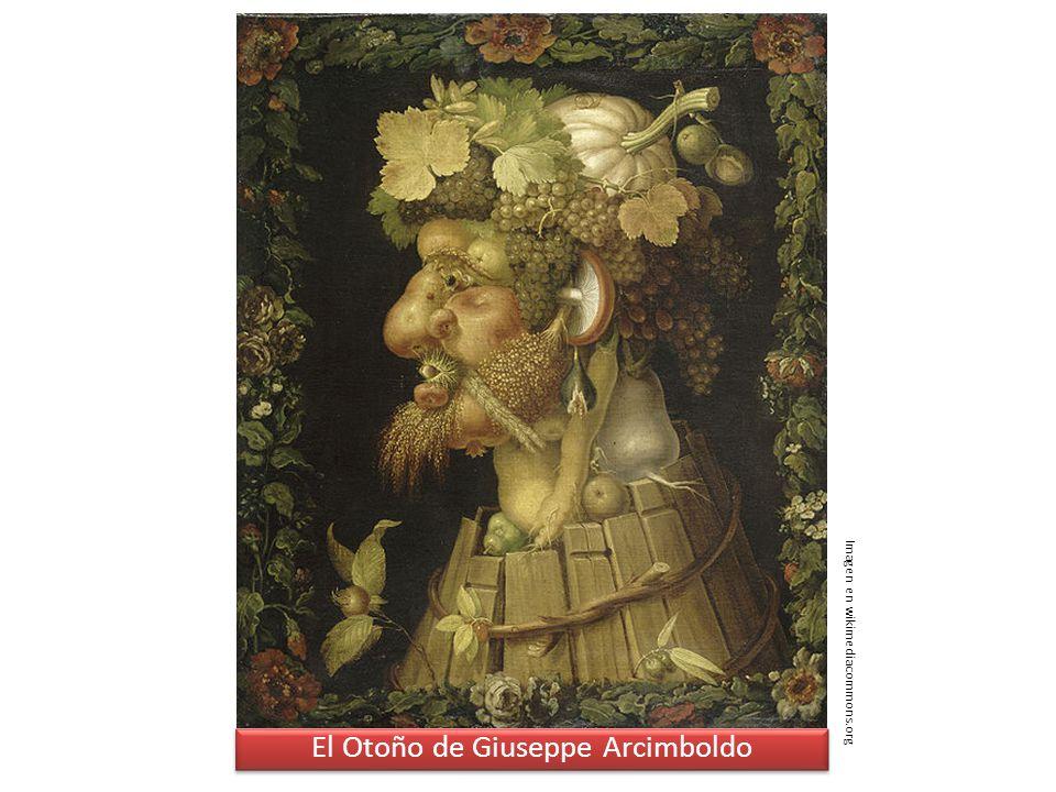 El Otoño de Giuseppe Arcimboldo Imagen en wikimediacommons.org