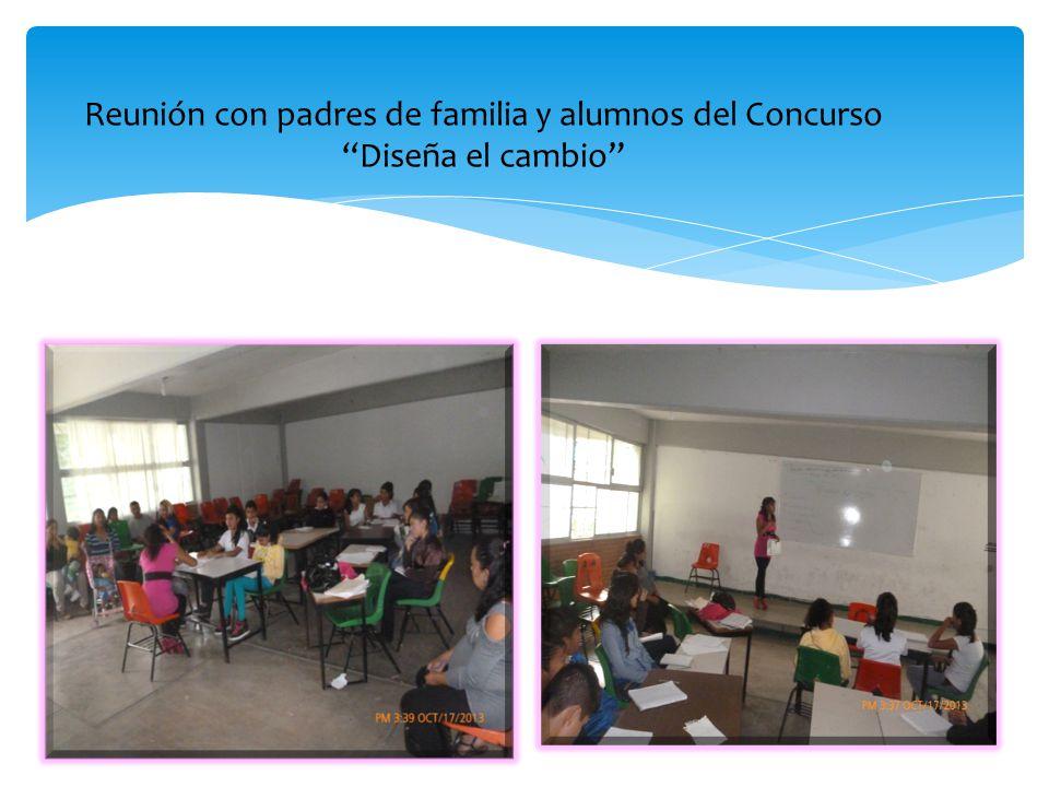 Los alumnos comienzas organizar como realizarán su trabajo durante las cuatro etapas de Diseña el Cambio .