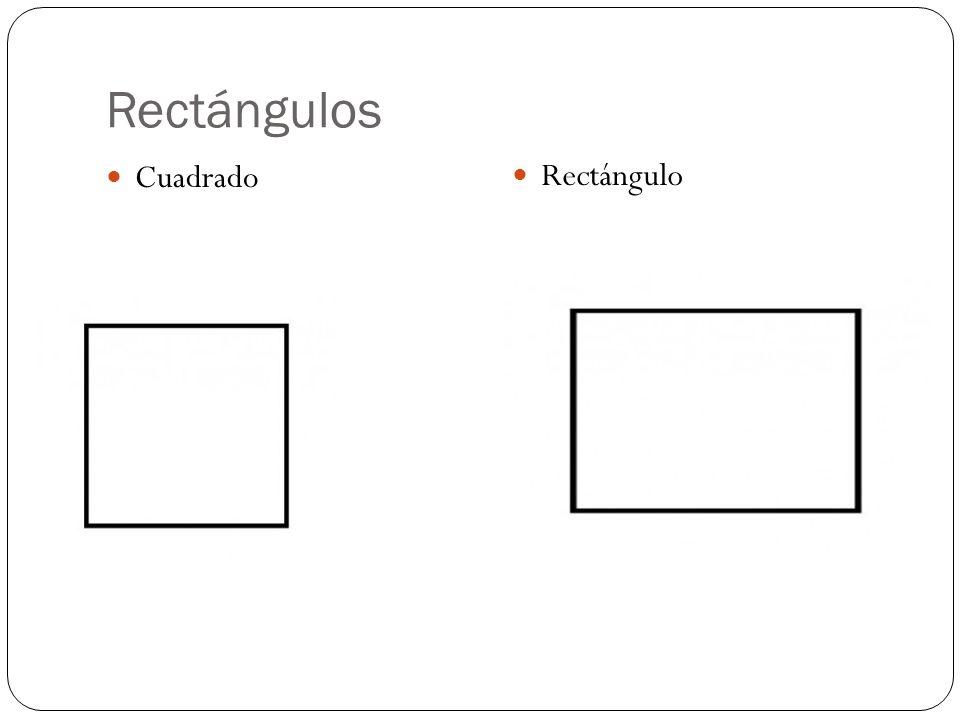 Rectángulos Cuadrado Rectángulo