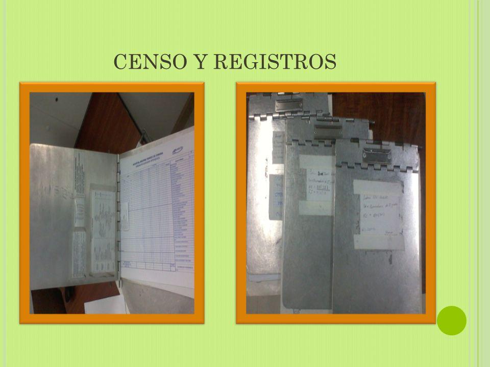 CENSO Y REGISTROS