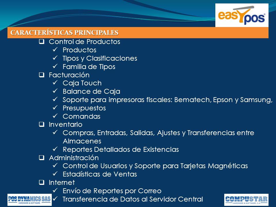 Easypos lleva un registro detallado de clientes, compañías y proveedores.