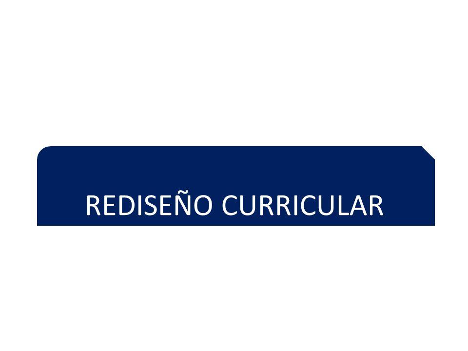 REDISEÑO CURRICULAR
