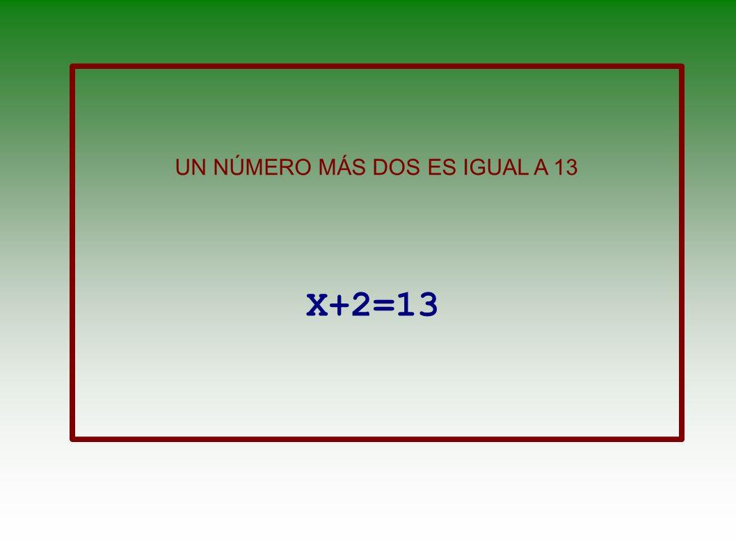 EL CUBO DE UN NÚMERO MÁS SU DOBLE x 3 +2x
