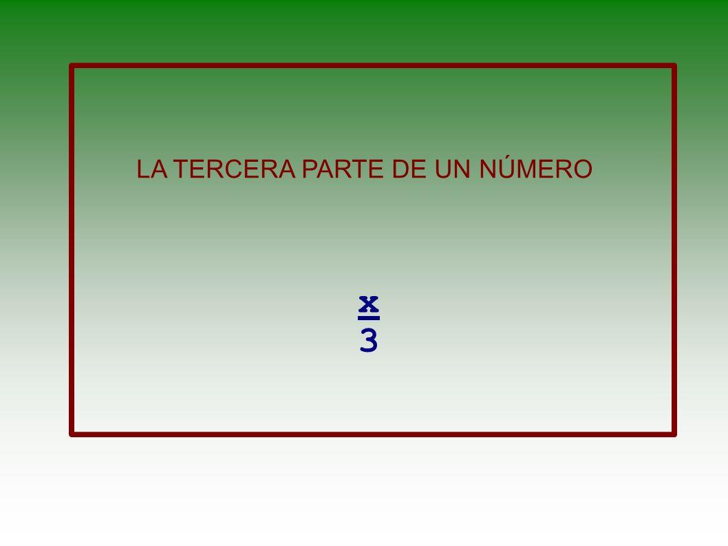 UN NÚMERO AL CUADRADO x2x2