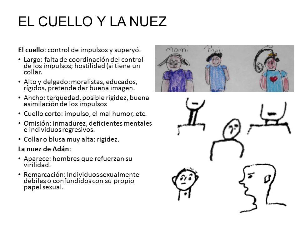 EL CUELLO Y LA NUEZ El cuello: control de impulsos y superyó.