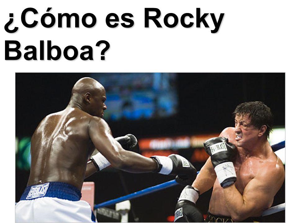 ¿Cómo es Rocky Balboa?