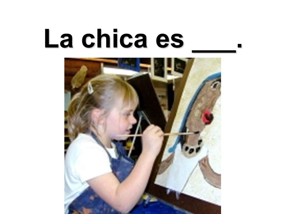 La chica es ___.