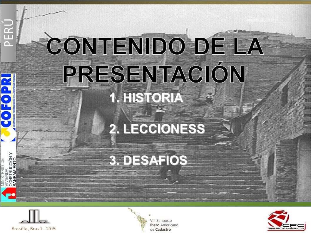 1. HISTORIA 2. LECCIONESS 3. DESAFIOS
