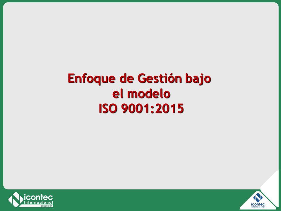 6 11V01-V1 Enfoque de Gestión bajo el modelo ISO 9001:2015