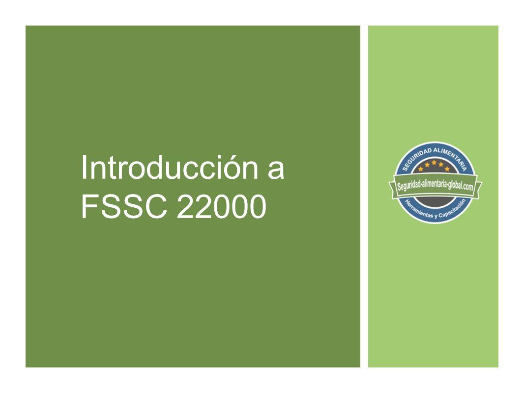 Introducción a FSSC 22000