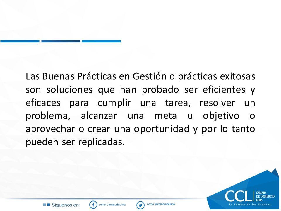 Importancia y beneficios de implementar Buenas Prácticas en Gestión.