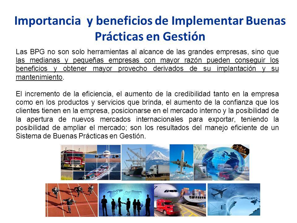 Modelo de Buenas Prácticas en Gestión para las Cámara de Comercio.