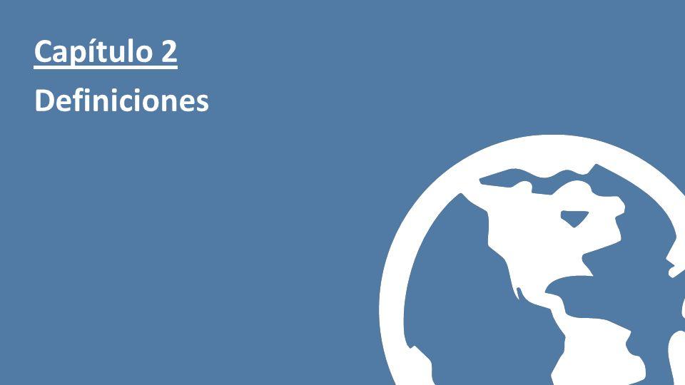 Presentación realizada por Prevention World Capítulo 2 Definiciones