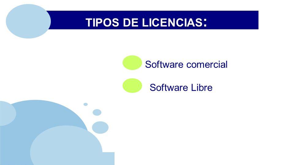 www.company.com Software comercial Software Libre