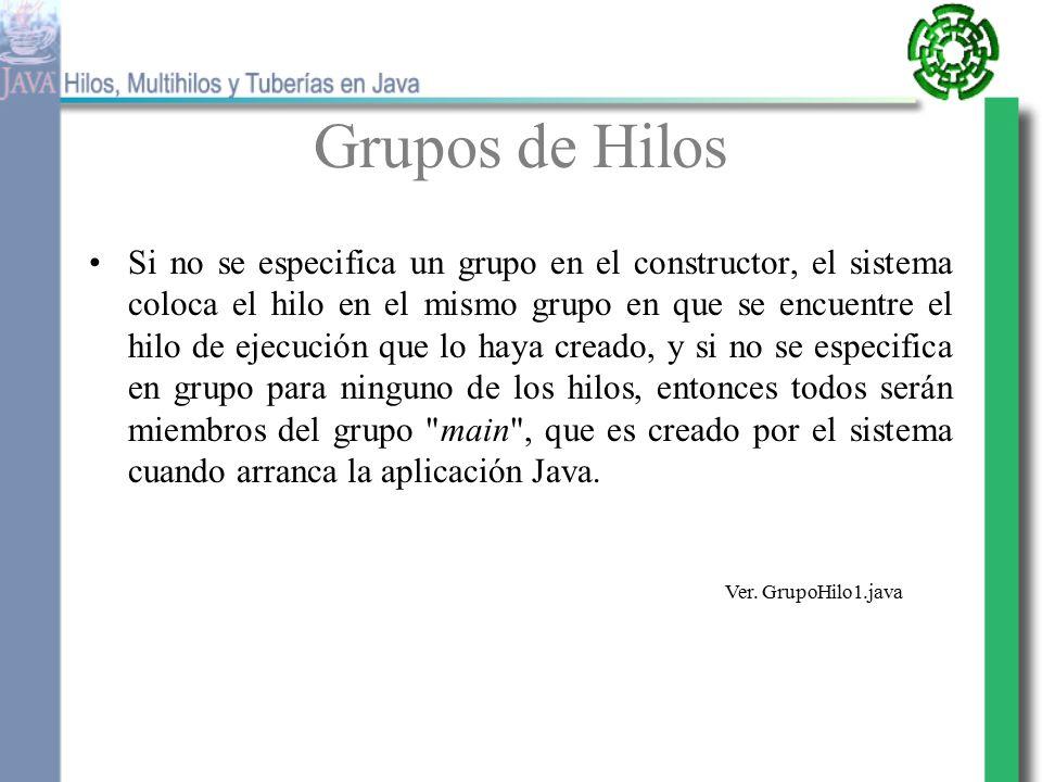 Hilos y Multihilos Un thread (hilo, flujo de control del programa ...