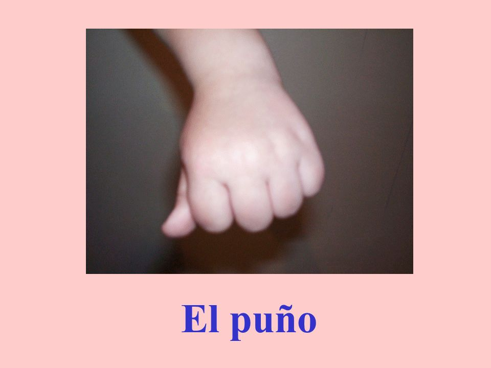 El dedo meñique