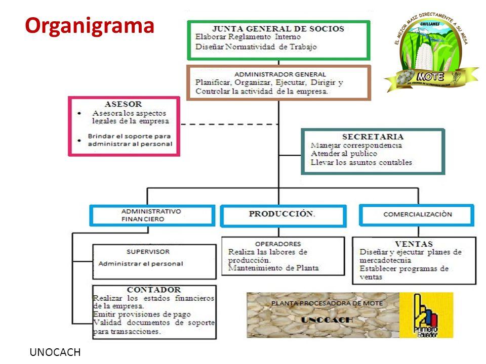 UNOCACH Organigrama