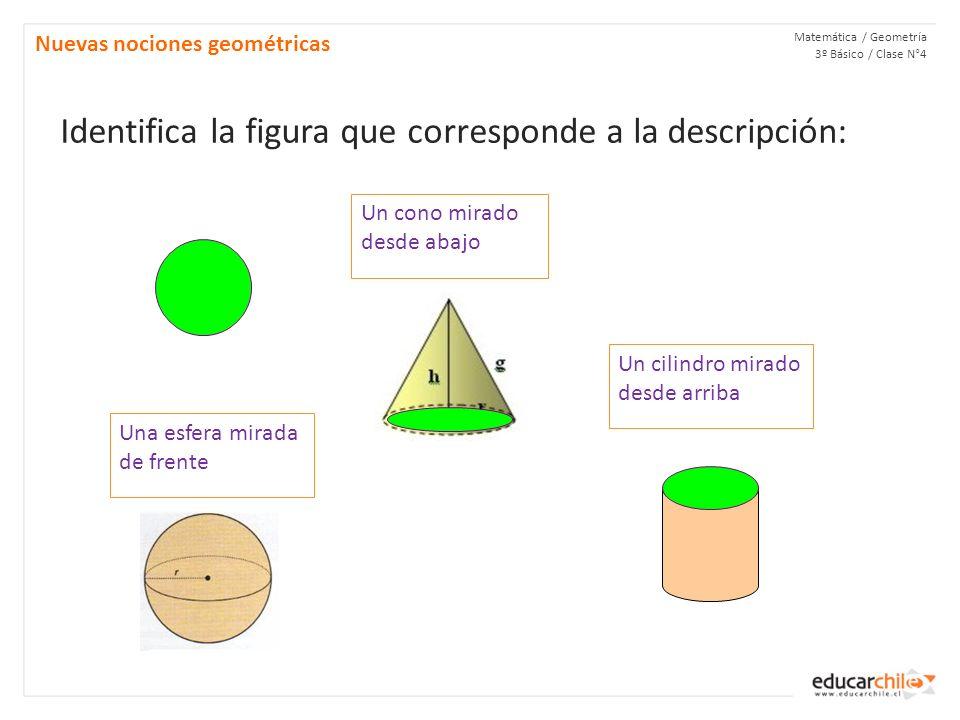 ¡Buen trabajo! Matemática / Geometría 3º Básico / Clase N°3 Nuevas nociones geométricas