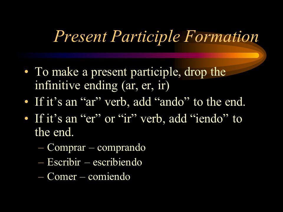 essayer present participle