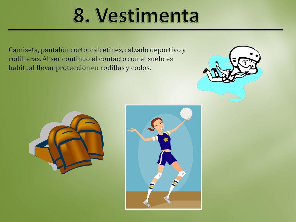 El balón es esférico y flexible; 65-67 cm de circunferencia, 260-280 g de peso y presión interior entre 0,300 y 0,325 kg/cm ² Es más pequeño y ligero