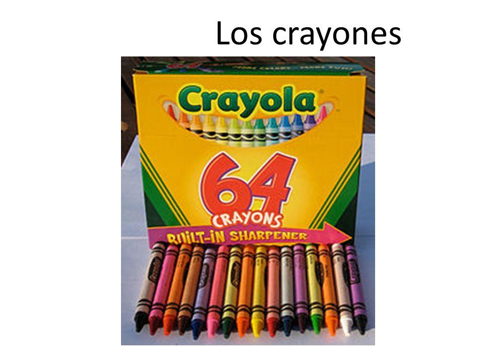 Los crayones