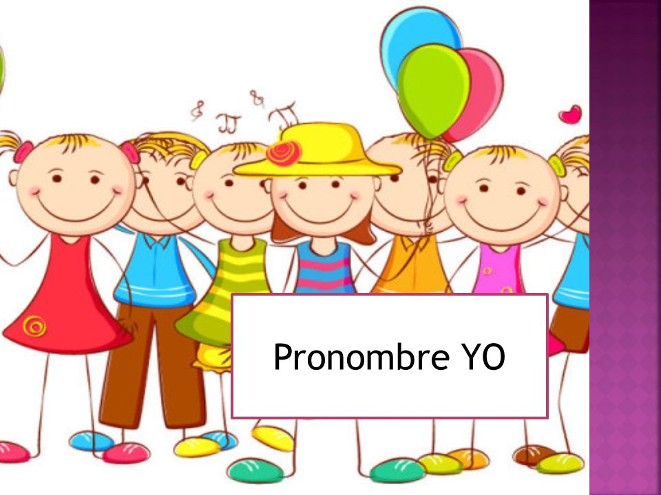 Pronombre YO