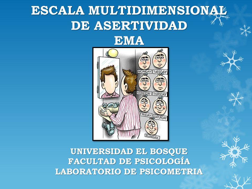 ¿Qué es EMA.Es un instrumento que se ha venido desarrollando desde el año 1989 hasta la fecha.