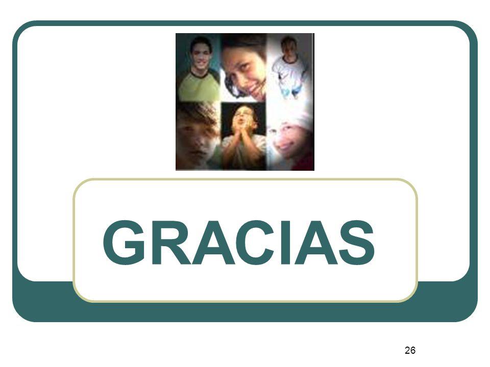 26 GRACIAS