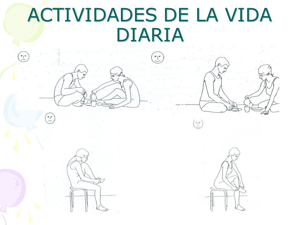 ACTIVIDADES DE LA VIDA DIARIA