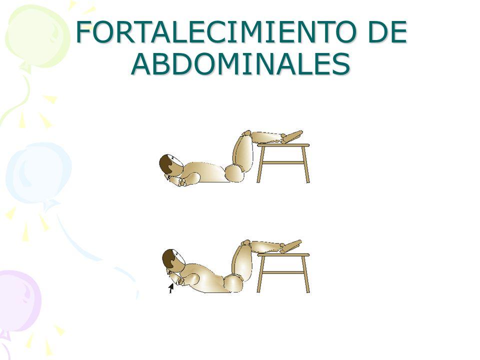 FORTALECIMIENTO DE ABDOMINALES