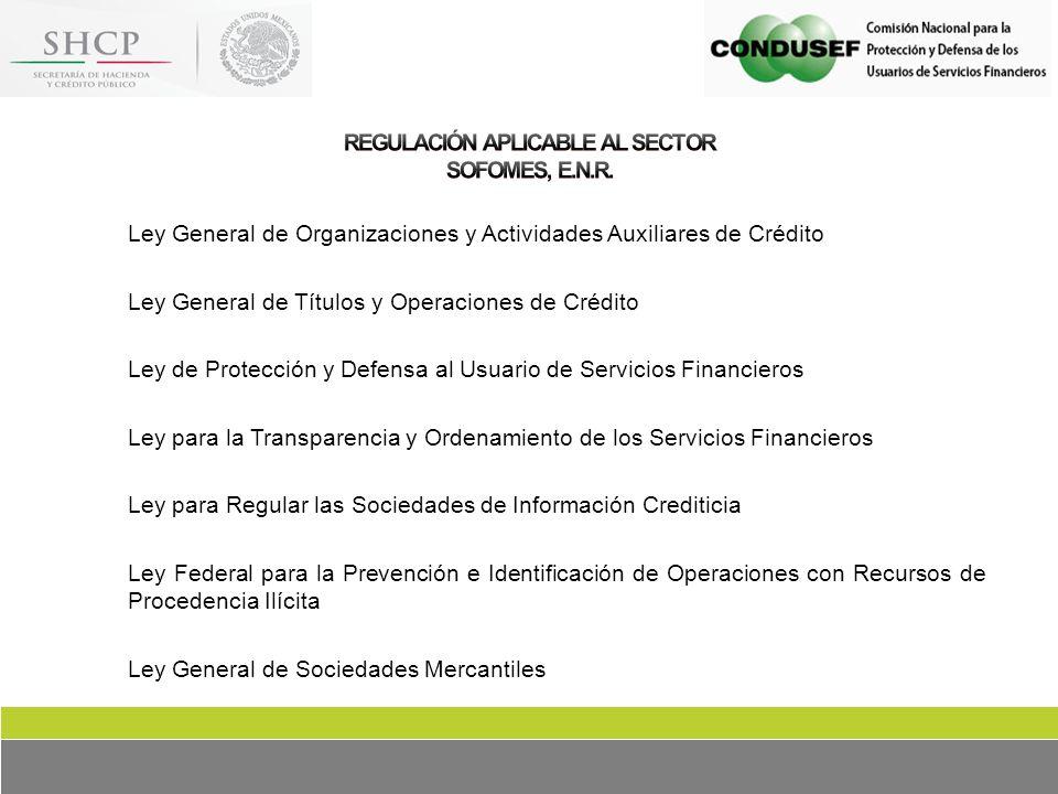 ley general de organizaciones y actividades auxiliares de credit: