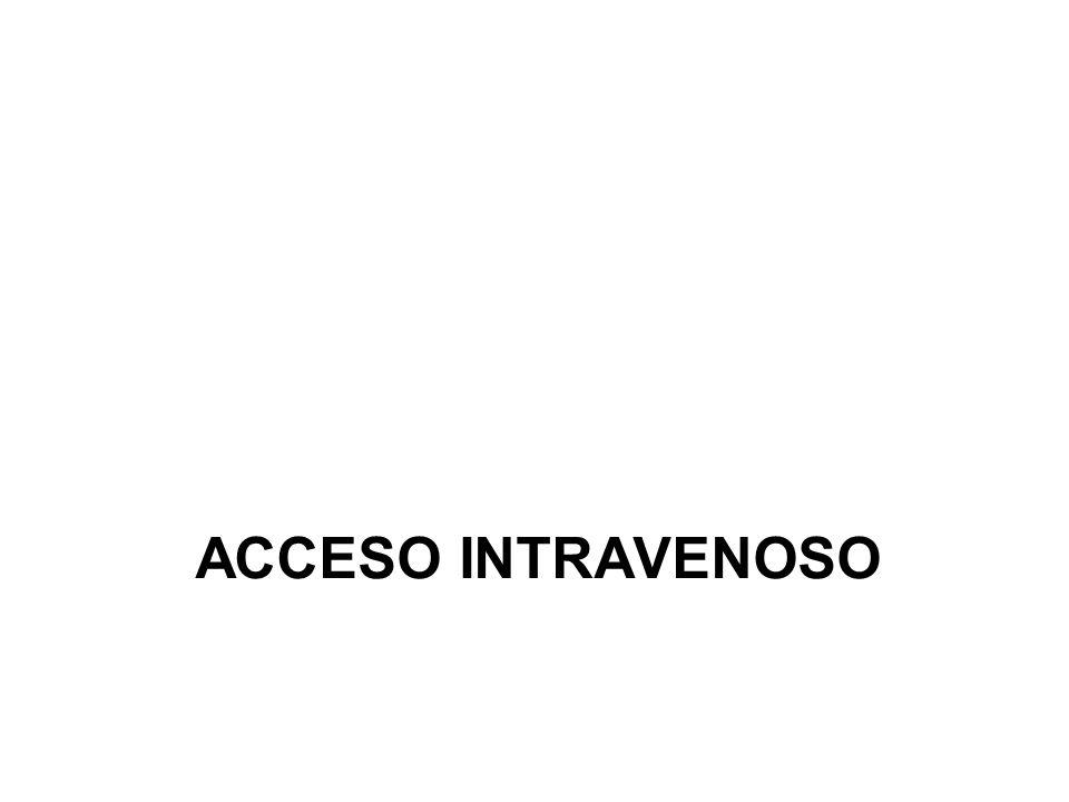 ACCESO INTRAVENOSO