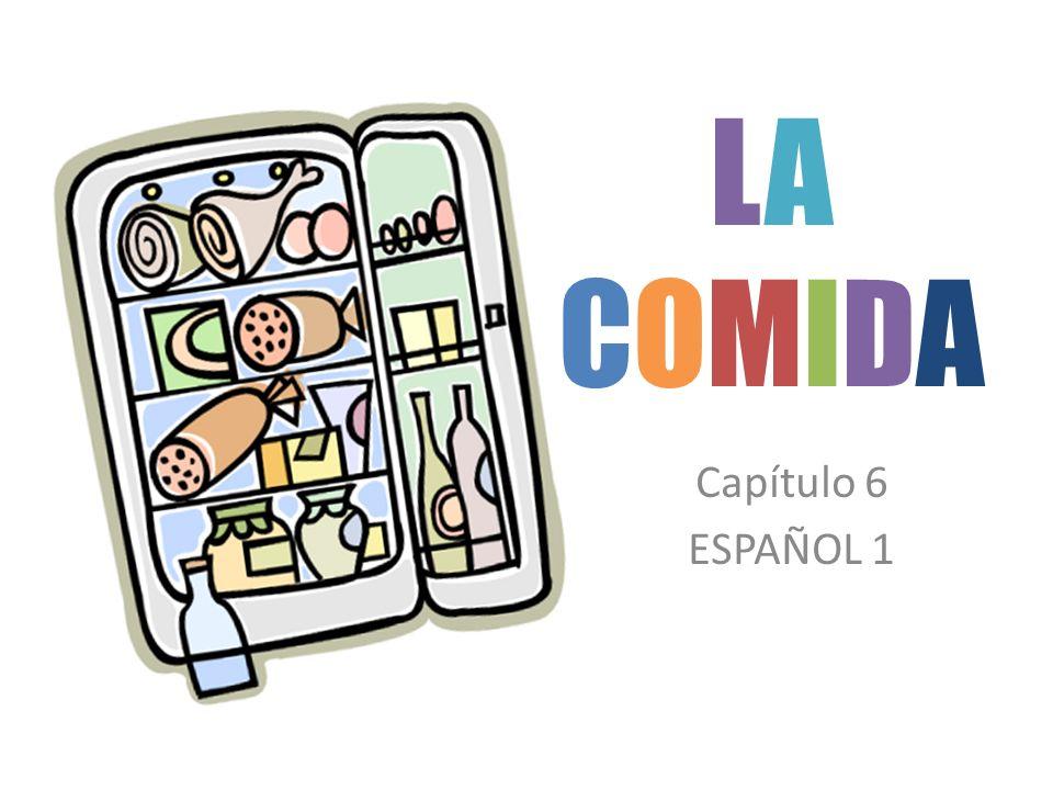 LACOMIDALACOMIDA Capítulo 6 ESPAÑOL 1