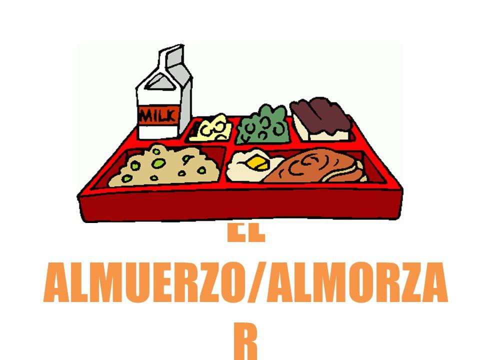 EL ALMUERZO/ALMORZA R