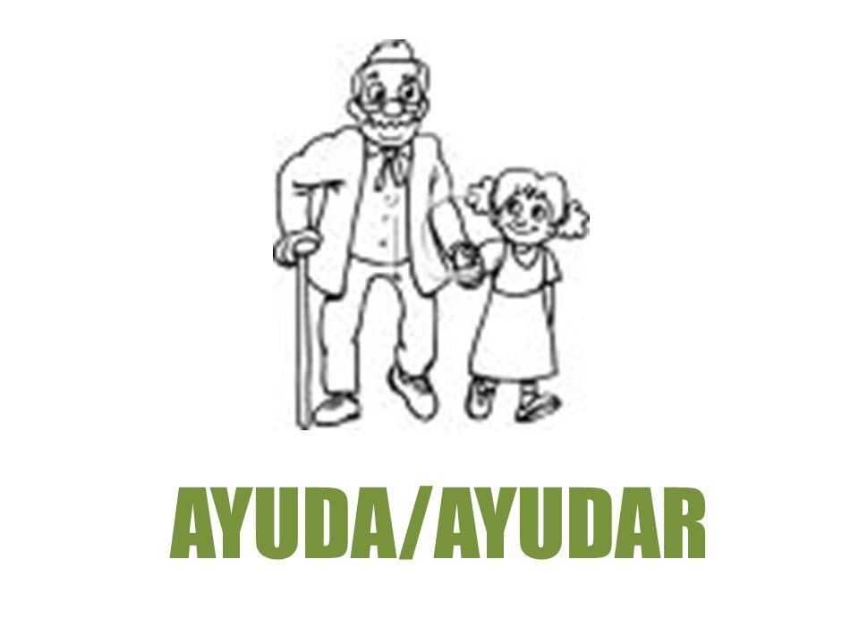 AYUDA/AYUDAR