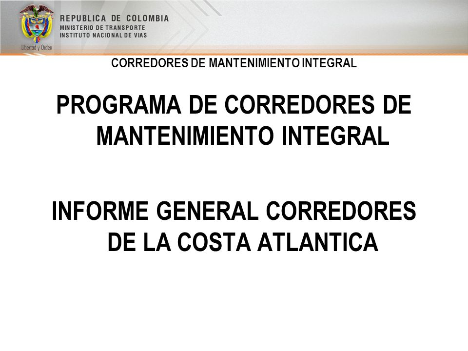 instituto nacional de vias de colombia:
