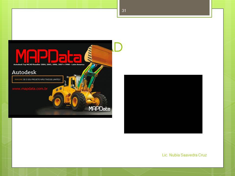 Evolución CAD Lic. Nubia Saavedra Cruz 31