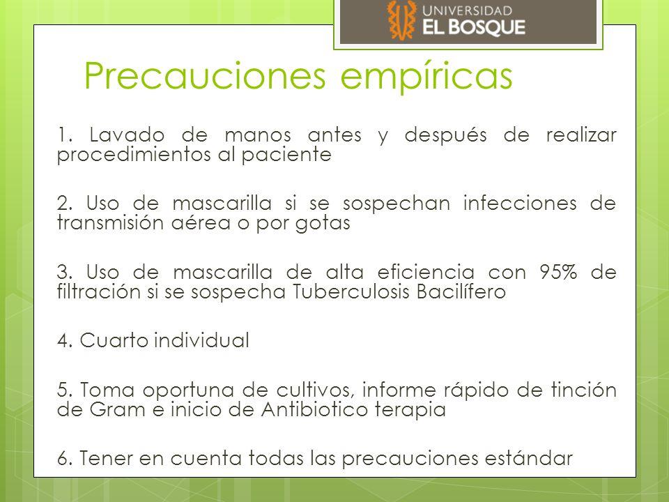 Precauciones estandar  Bioseguridad  Técnica aséptica