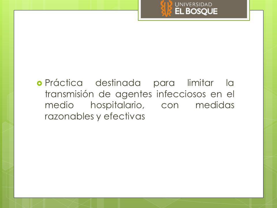 Transmisión de la infección  Una fuente de infección  Un microorganismo infectante  Una vía de transmisión efectiva  Un huésped susceptible