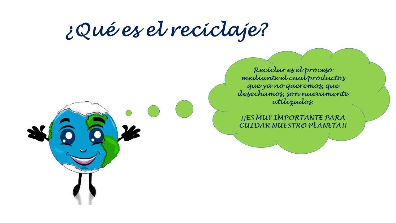 ¿Sabes reciclar?