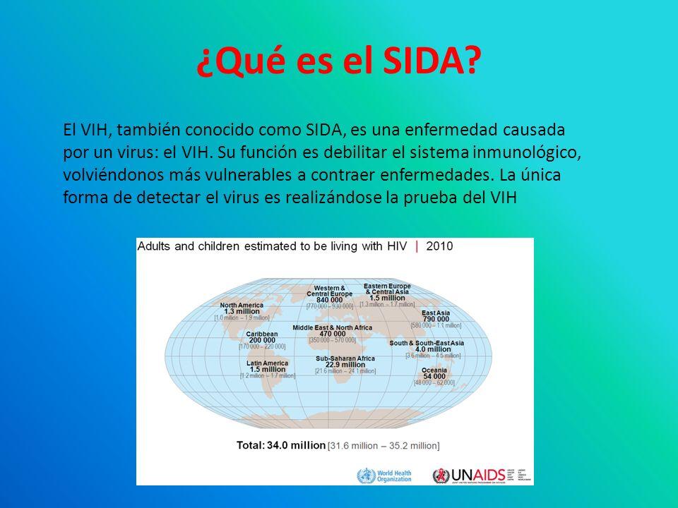 VIH: Ciclo biológico