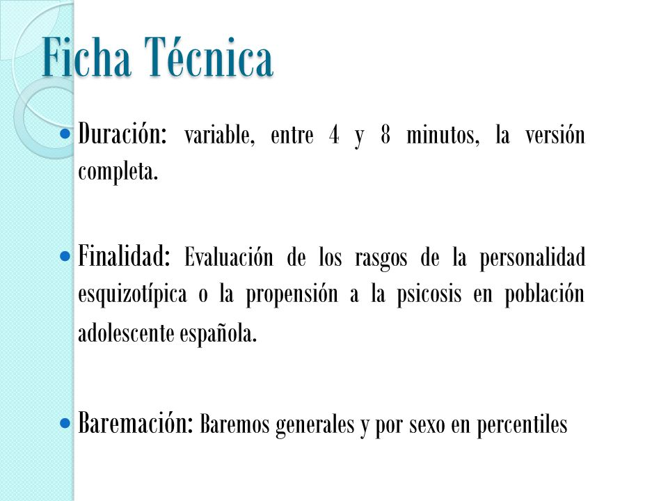 Ficha Técnica Duración: variable, entre 4 y 8 minutos, la versión completa.