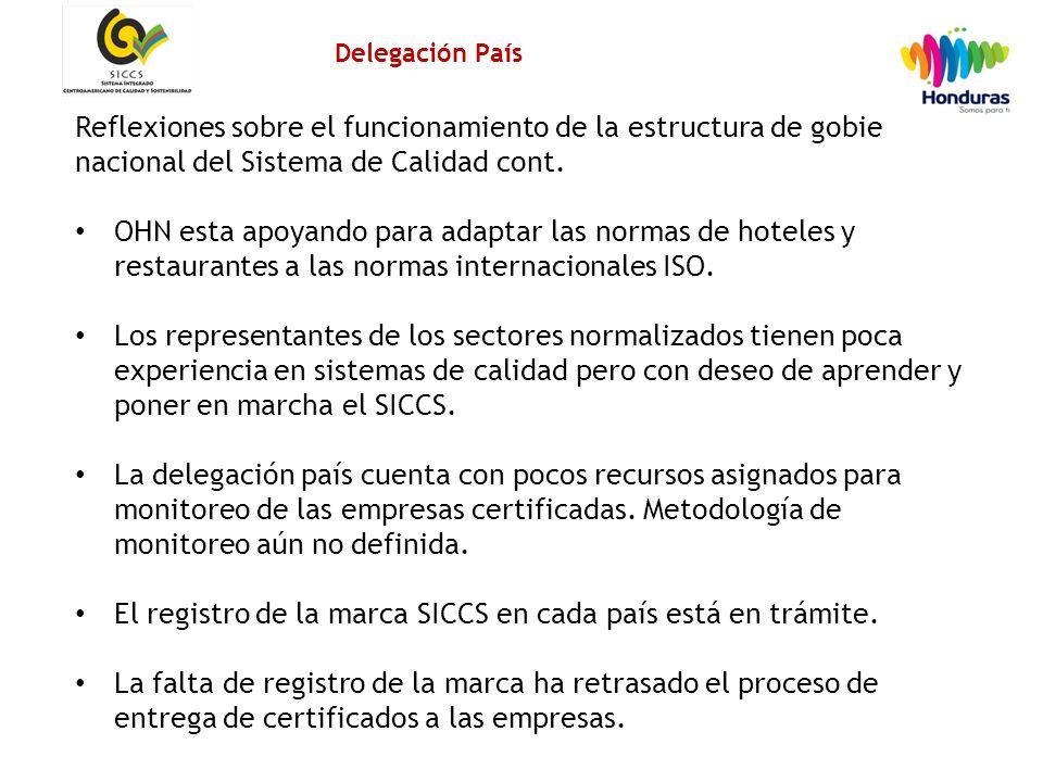 14 Reflexiones sobre el funcionamiento de la estructura de gobierno nacional del Sistema de Calidad cont.